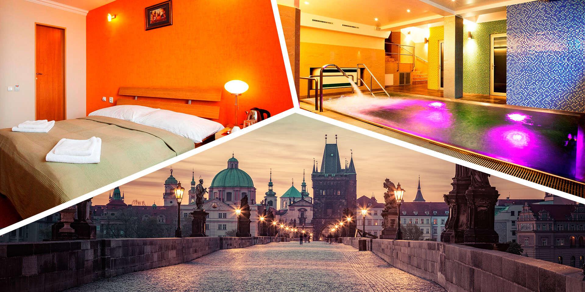 Praha s ubytovaním a privátnym wellness v hoteli Relax Inn****