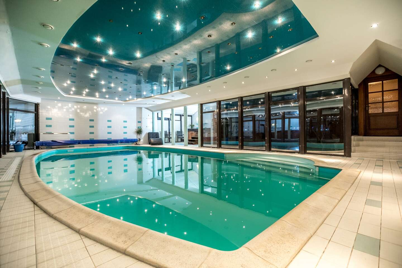 Celá Vila Aurora v Tatrách s bazénom